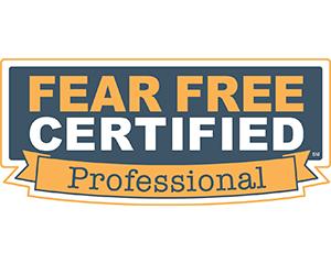 Fear Free Certified Professional certificate